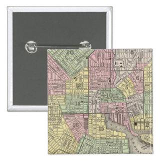 Baltimore 15 Cm Square Badge