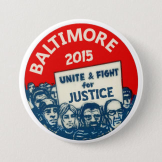 Baltimore 2015 7.5 cm round badge