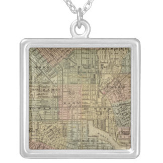 Baltimore 2 silver plated necklace