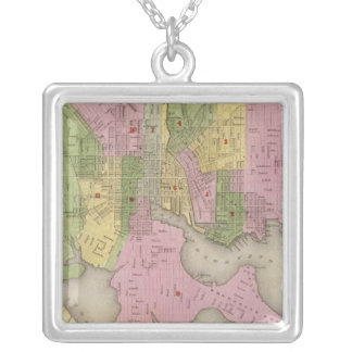 Baltimore 3 silver plated necklace