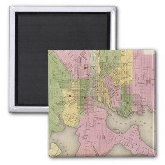 Baltimore 3 square magnet