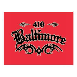 Baltimore 410 postcard
