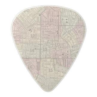 Baltimore 4 acetal guitar pick