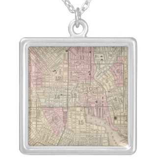 Baltimore 4 silver plated necklace