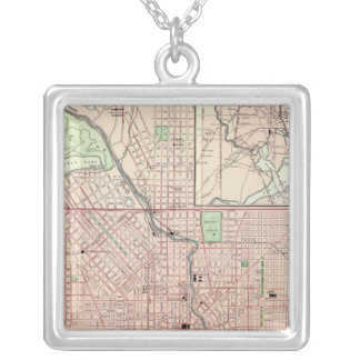 Baltimore 5 silver plated necklace