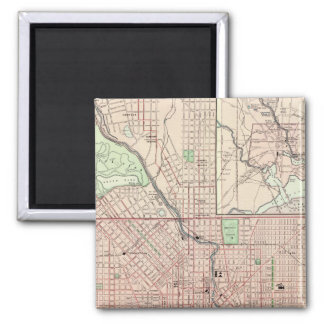 Baltimore 5 square magnet