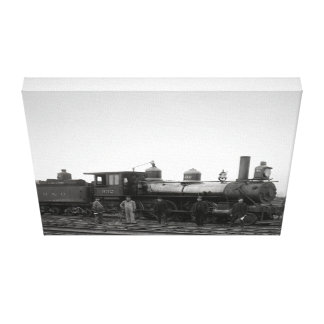 Baltimore and Ohio Railroad Engine # 932 Canvas Print