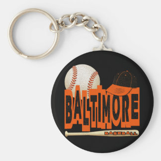 BALTIMORE BASEBALL KEY RING