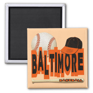 BALTIMORE BASEBALL MAGNET