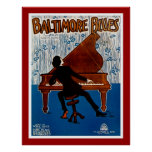 Baltimore Blues Poster