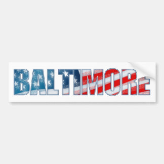 Baltimore Bumper Sticker