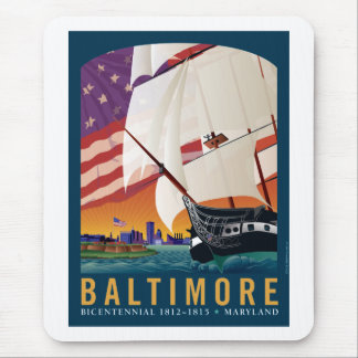 Baltimore By the Dawn s Early Light Mouse Pads