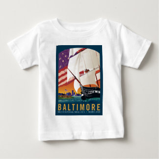Baltimore: By the Dawn's Early Light Baby T-Shirt