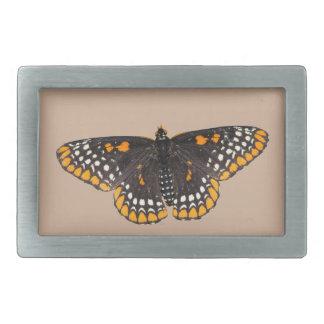 Baltimore Checkerspot Butterfly Belt Buckle