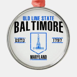 Baltimore Christmas Ornament