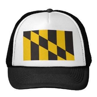 baltimore city maryland usa country flag trucker hat