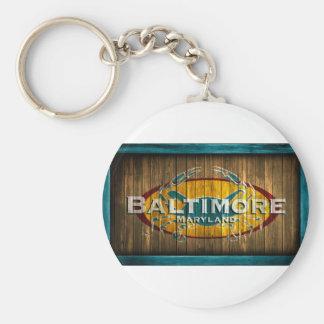 Baltimore Crab Key Ring