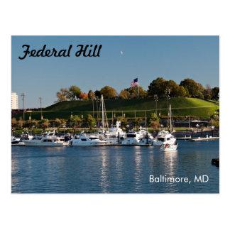 Baltimore Federal Hill Park Postcard