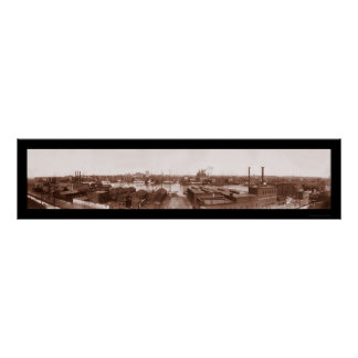 Baltimore Federal Hill Photo 1903 Poster