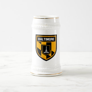 Baltimore Flag Beer Stein