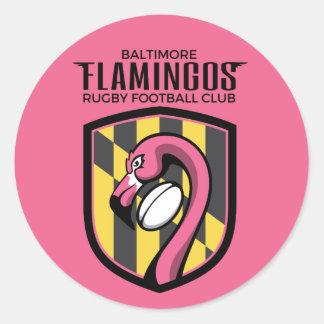 Baltimore Flamingos Sticker (pink)