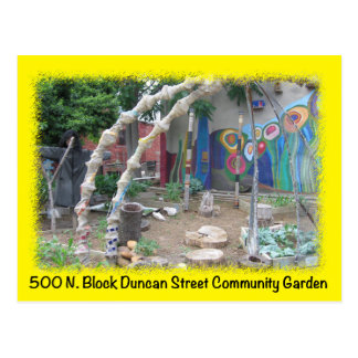 Baltimore Green Space Duncan St postcard