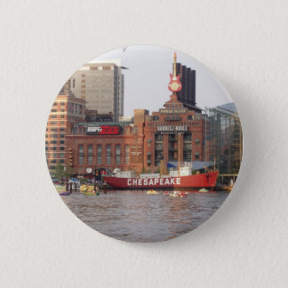 Baltimore Harbor 6 Cm Round Badge