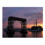 Baltimore Harbor Sunset Post Card