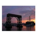 Baltimore Harbor Sunset Post Card