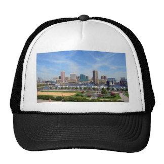 Baltimore Inner Harbor Mesh Hat