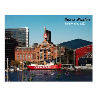 Baltimore Inner Harbor - Power Plant Postcard
