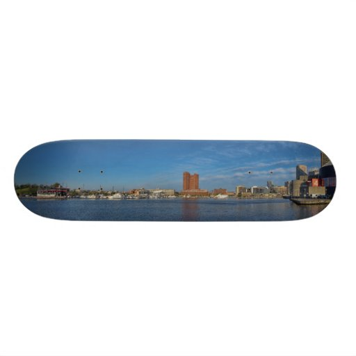 Baltimore Inner Harbor Skateboard Decks