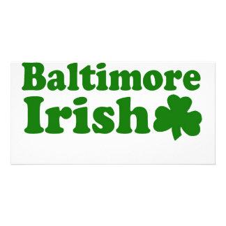 Baltimore Irish Custom Photo Card