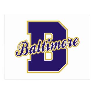 Baltimore Letter Postcard