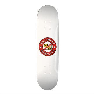 Baltimore Maryland 21.3 Cm Mini Skateboard Deck