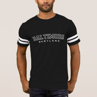BALTIMORE maryland casual graphic tee