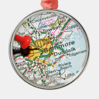 Baltimore, Maryland Christmas Ornament