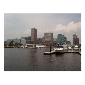 Baltimore Maryland Innerharbor Postcard
