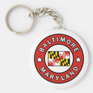 Baltimore Maryland Key Ring