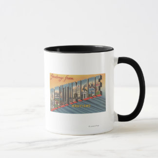 Baltimore, Maryland - Large Letter Scenes 2 Mug