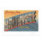 Baltimore, Maryland - Large Letter Scenes 2 Postcard