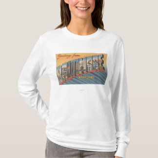 Baltimore, Maryland - Large Letter Scenes 2 T-Shirt