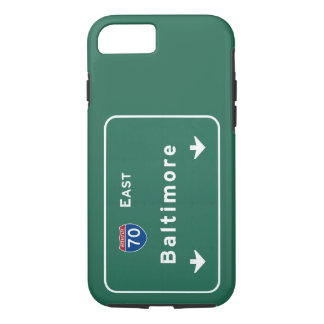 Baltimore Maryland md Interstate Highway Freeway : iPhone 7 Case