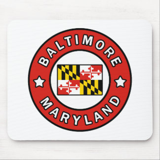 Baltimore Maryland Mouse Mat