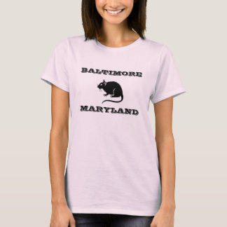 Baltimore Maryland Rat Shirt