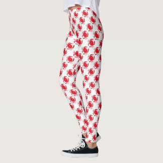 Baltimore Maryland Red Crab Crabs Seafood Foodie Leggings