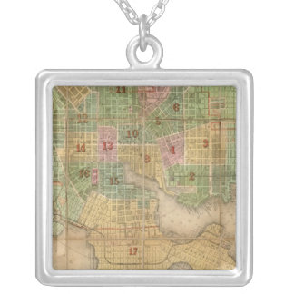 Baltimore, Maryland Silver Plated Necklace