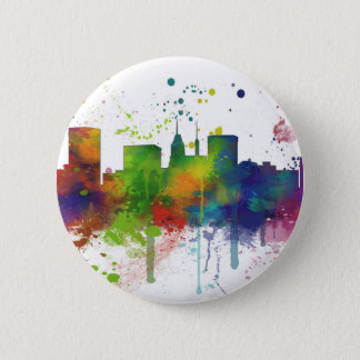 BALTIMORE MARYLAND SKYLINE 6 CM ROUND BADGE