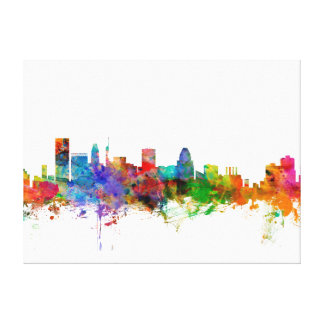Baltimore Maryland Skyline Canvas Print