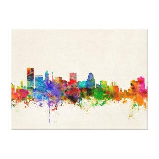 Baltimore Maryland Skyline Cityscape Canvas Print